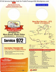 BSEP Promotional Hanger for Service 972