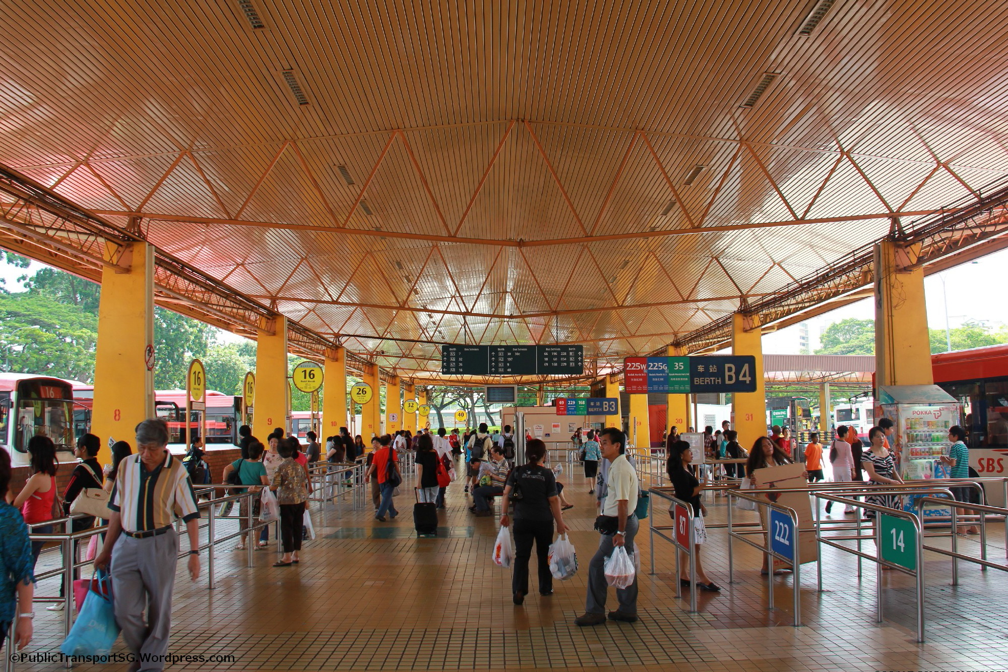Old Bedok Interchange Concourse