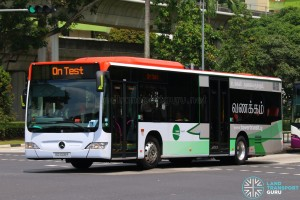Tower Transit Mercedes-Benz Citaro (SG1006R) On Test