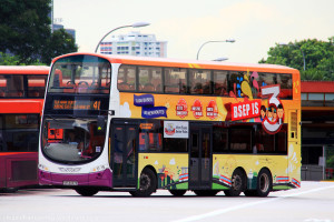 SBS Transit Volvo B9TL Wright (SBS3437E) - Service 41