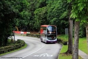 SBS Transit Volvo B9TL (SBS3438C) on Service 41 along Toh Tuck Rd