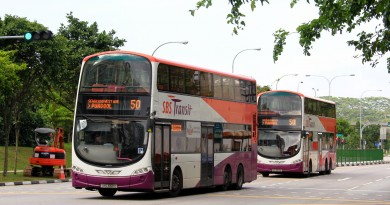 Service 50 bunching at Punggol Ctrl