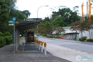 Piar of Bus Stops along Kay Siang Road