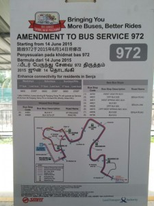 [Jun 2015] Service 972 Route amendment poster to Senja