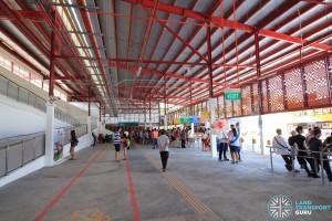 Interchange concourse