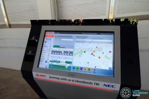 Interactive information panel. Buggy option is at the bottom of the left column