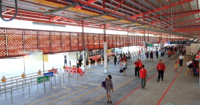 Woodlands Temporary Interchange interior