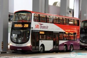SBS Transit Volvo B9TL Wright (SBS3492U) - Service 258