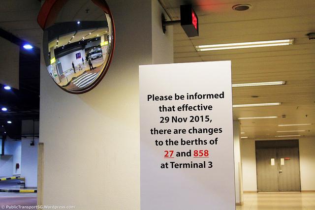 Terminal 3 berth swap