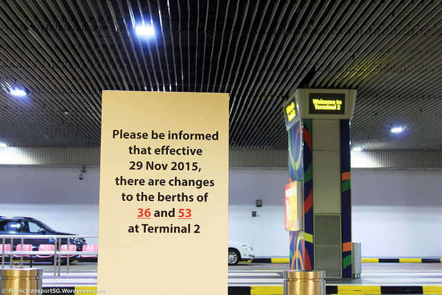 Terminal 2 berth swap