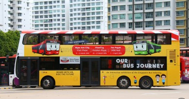 Side View - Our Bus Journey Advertisement
