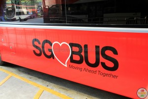 SG Bus Logo – Bright Red