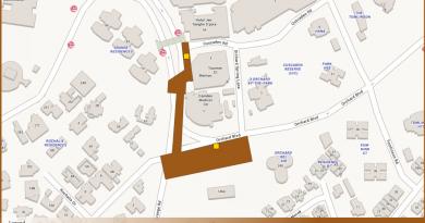 Orchard Boulevard TEL Station Diagram