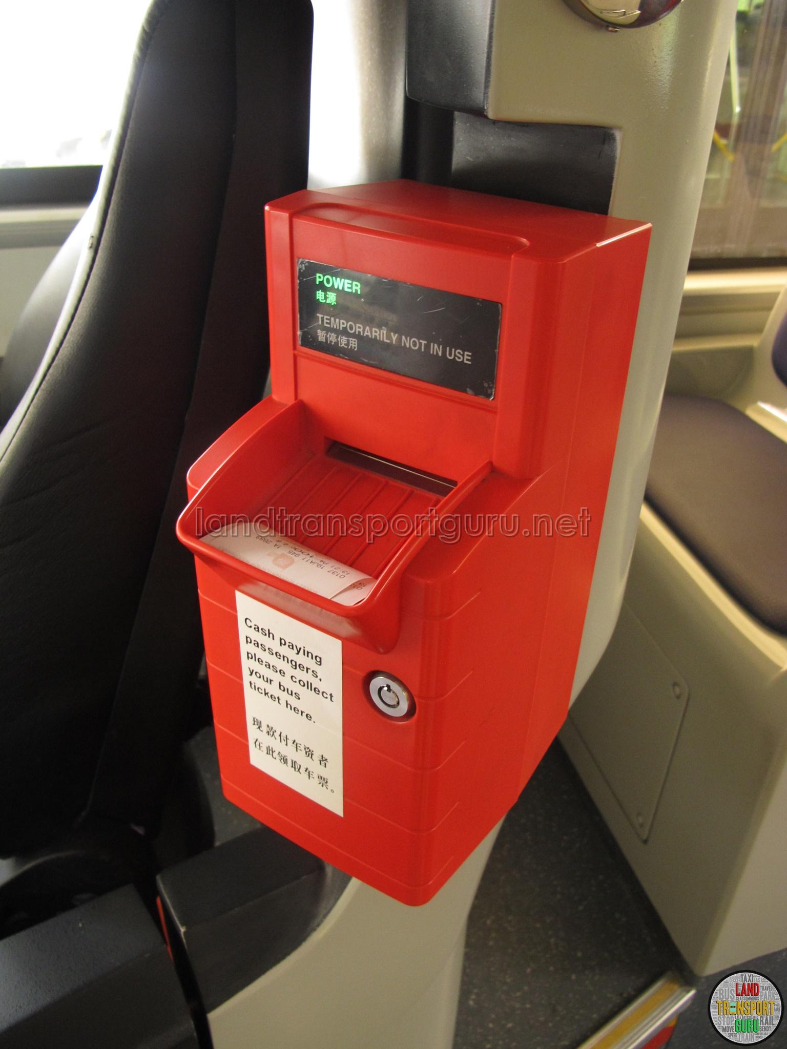 Automatic Ticket Dispenser ~ Ticket dispenser land transport guru