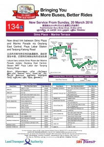 LTA Route Introduction poster