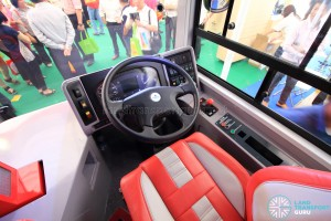 Alexander Dennis Enviro500 Concept Bus Mock-up - Driver's Cab