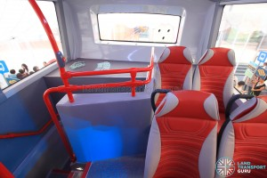 Alexander Dennis Enviro500 Concept Bus Mock-up - Second staircase at the rear