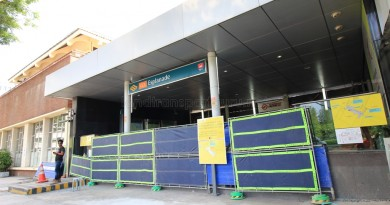 Esplanade exit F closure (1)