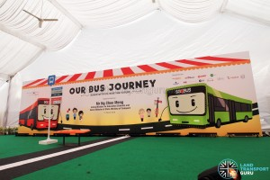 LTA Our Bus Journey Carnival - Ngee Ann City - Empty stage