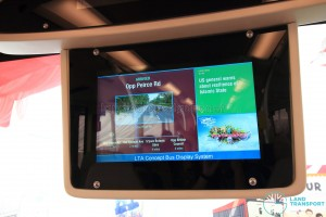MAN Lion's City DD L Concept Bus Mock-up - Passenger Information Display System (PIDS)