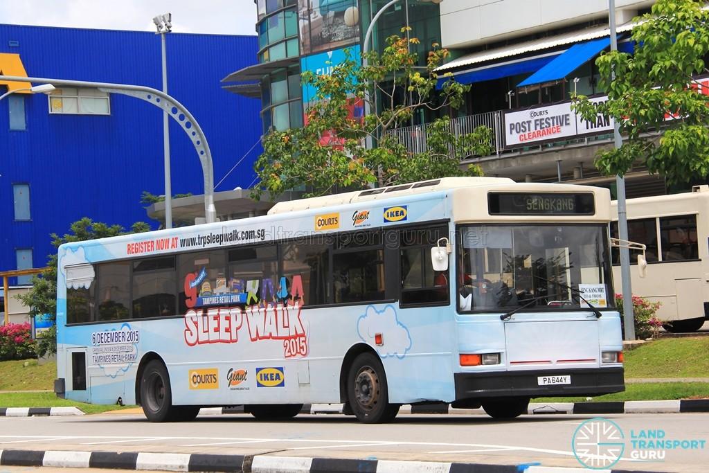 Bus Plus Dennis Lance 211 (PA644Y) - Tampines Retail Park Shuttle (Sengkang)