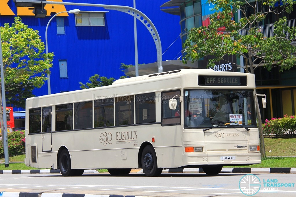 Bus Plus Dennis Lance 211 (PA648L) - Tampines Retail Park Shuttle (Bedok)