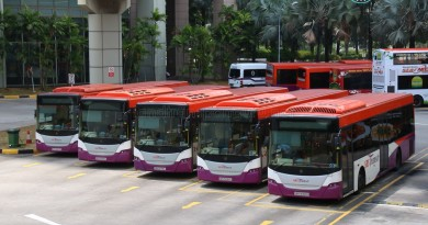 SBS Transit Scania K230UB Citybuses Toa Payoh Bus Interchange