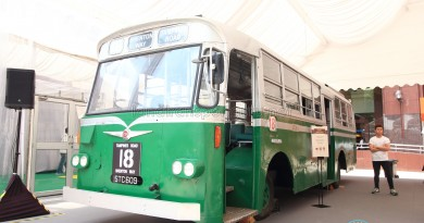 Restored Singapore Traction Company Bus - 1967 Nissan RX102K3 (STC609) - Exterior