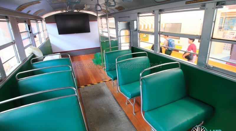 New bus seats