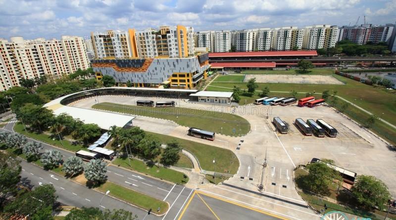 Sembawang Interchange - Overhead