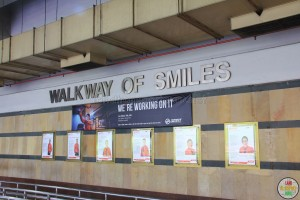 Woodlands Regional Interchange - Walkway of Smiles