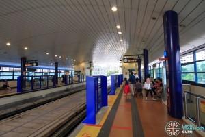 Bukit Panjang LRT Station - BPLRT Platform 1