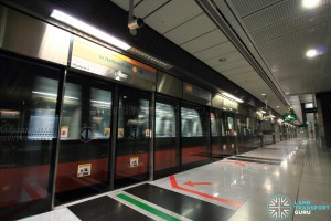 Botanic Gardens MRT Station - CCL Platform A