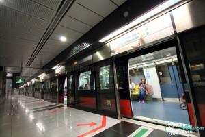Botanic Gardens MRT Station - CCL Platform B