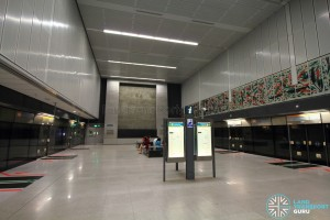 Botanic Gardens MRT Station - CCL Platform level