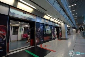 Promenade MRT Station - CCL Platform B (B2)