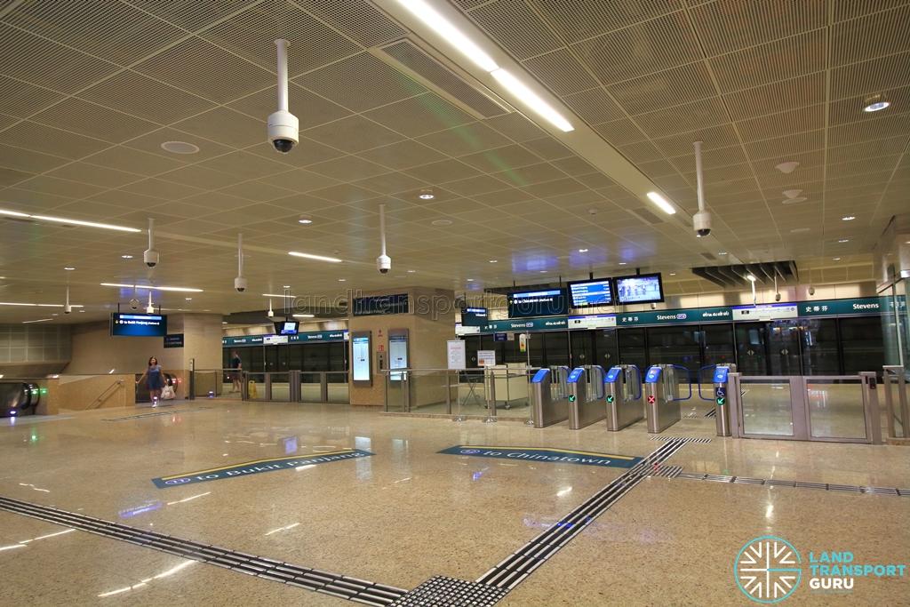 Stevens MRT Station