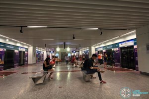 Little India MRT Station - DTL Platform level