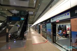Bugis MRT Station - DTL Platform B