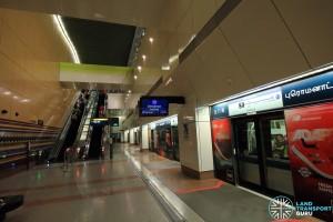 Promenade MRT Station - DTL Upper Platform level (B6)
