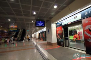 Promenade MRT Station - DTL Platform C (B7)