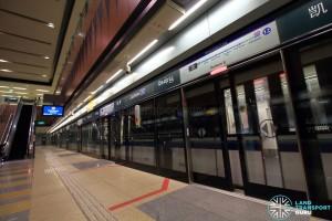 Cashew MRT Station - Platform B
