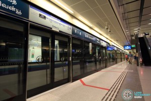 Sixth Avenue MRT Station - Platform A