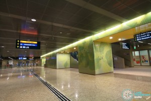 Botanic Gardens MRT Station - DTL Ticket concourse