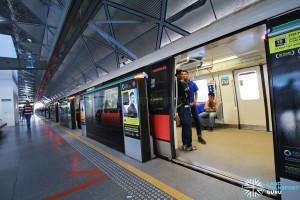 Expo MRT Station - Platform A