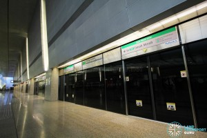 Changi Airport MRT Station - Platform A