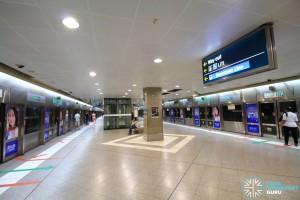 Bugis MRT Station - EWL platform