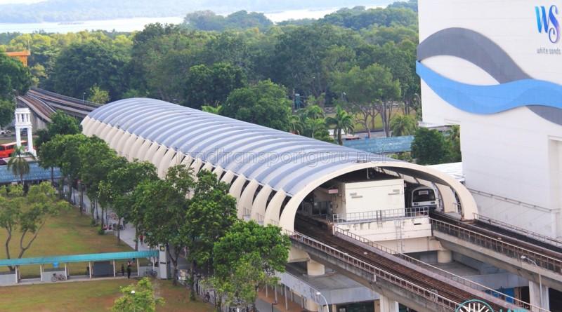 Pasir Ris MRT Station - Aerial View