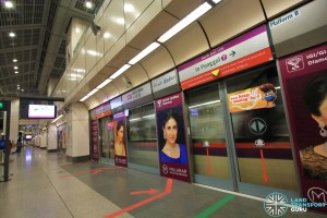 Little India MRT Station - NEL Platform B