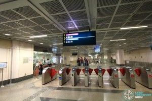 Little India MRT Station - NEL Passenger Service Centre & Faregates